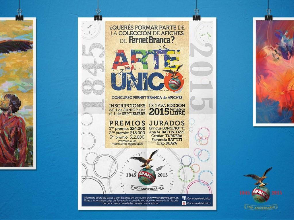 Concurso Arte Único 2015