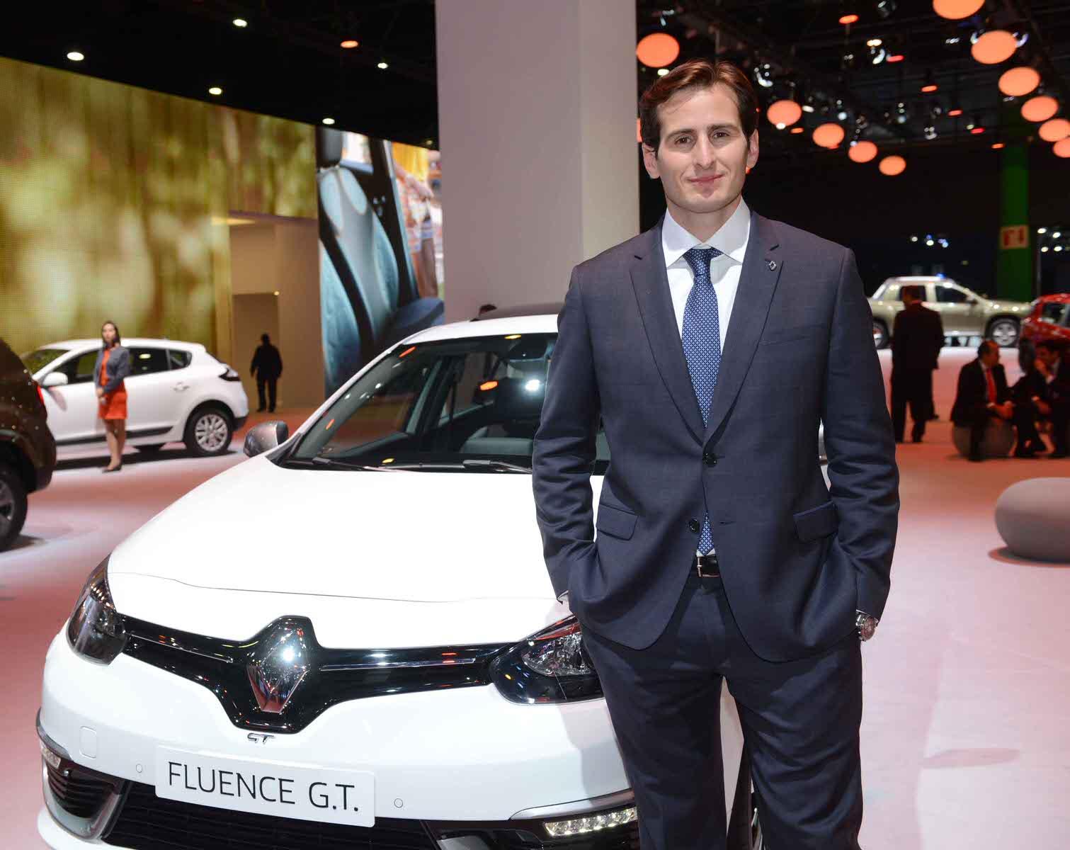 Federico Goyret Gerente de Marketing Renault Argentina