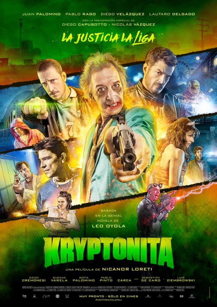 Afiche Kryptonita