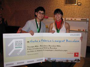 Gustavo Concha e Isabel Tapia, Ganadores Concurso Masisa 2010