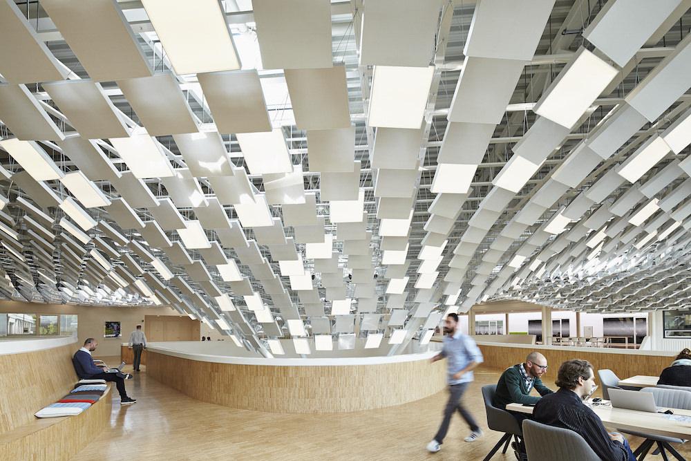 Las oficinas de Philips en Eindhoven