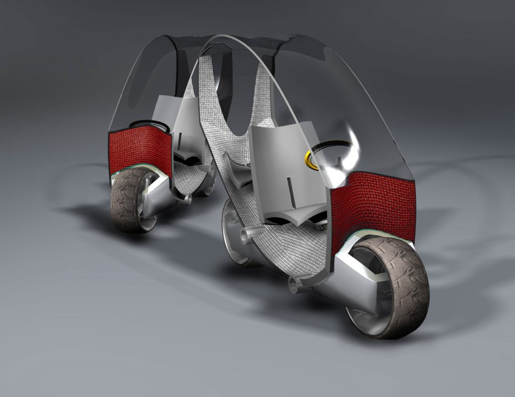 Concept Car Bi, Francisco Gómez Paz