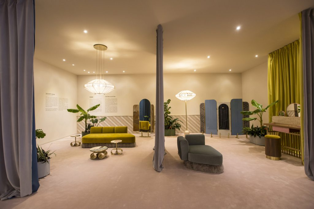 The Happy Room by Cristina Celestino - Fendi