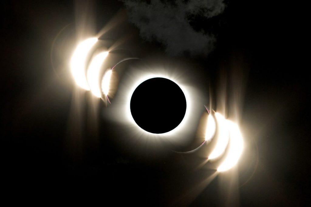 Eclipse de luna. PH: NASA